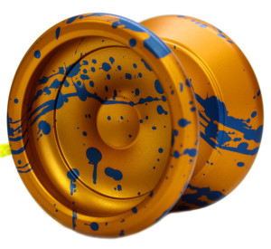 Gold and Blue Yomega Prodigy